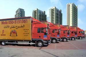 Alfarah movers and removals have fleet of trucks to relocate of your office and office furniture in UAE. We treat your furniture, office equipment, electronic instruments, classical instrument and household contents with great care and diligence.